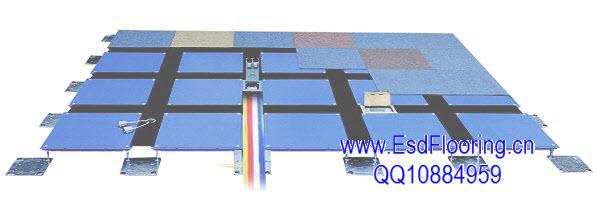 OA网络地板施工
