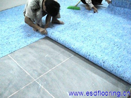 防静电地板施工规范
