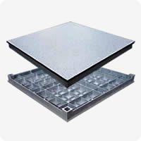 铝合金防静电地板正、反面