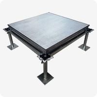 铝合金防静电地板组装图