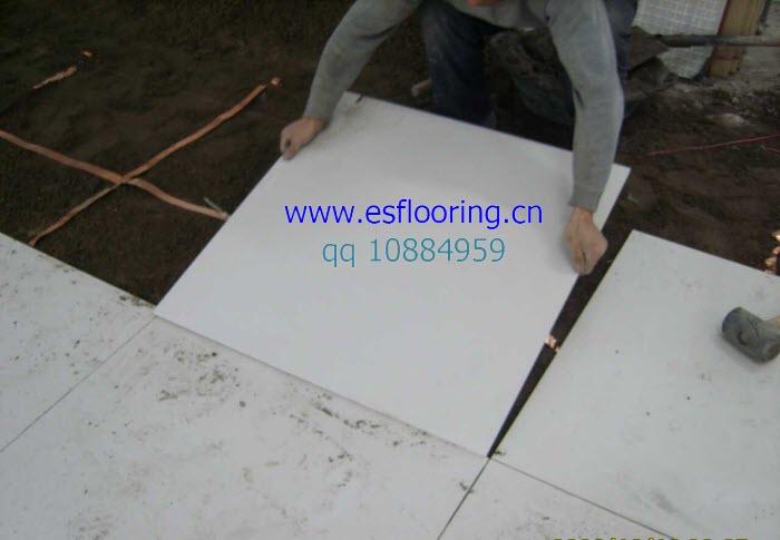 防静电瓷砖铺贴